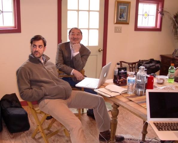 jOHN and Scott (?!) conduct the Principals Symphony.