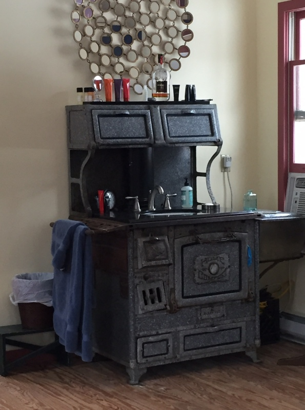 The Coal Stove Sink Itself